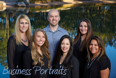 Tendo photography creates portraits of business owners and personnel for advertising, web sites, and in-office displays.