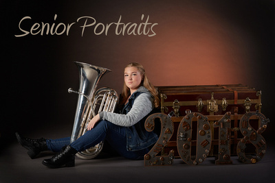 Senior portraits created in the Tendo Photography Studio or on location for high school and college seniors graduating in the  Colorado Springs area.